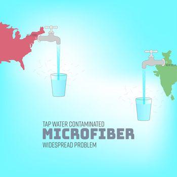 Tap Water Microfiber