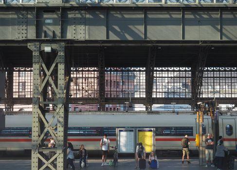 Hauptbahnhof (Central station) in Koeln