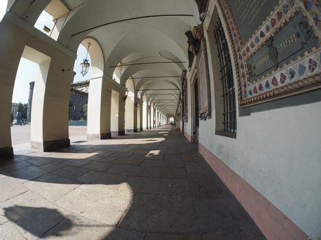 colonnade in Turin