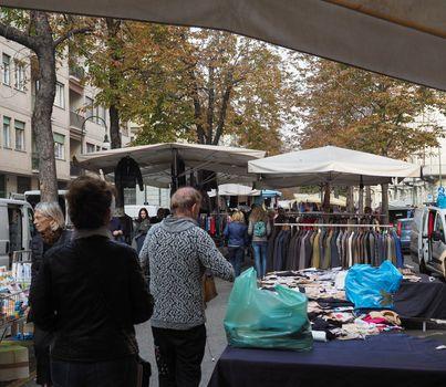 Corso Palestro marketplace in Turin