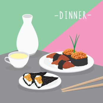 Food Meal Dinner Dairy Eat Drink Menu Restaurant Vector