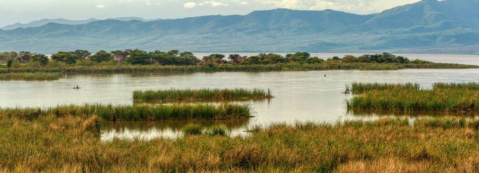 Lake Chamo landscape in the Southern Nations, Nationalities, and Peoples Region of southern Ethiopia. Africa Wilderness