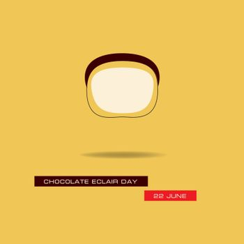 Banner for the June event - Chocolate Eclair Day