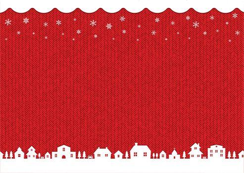 winter,christmas background vector illustration (knit pattern)