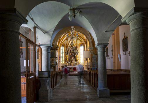 Parish Church of the Assumption of Mary church in Kranjska Gora