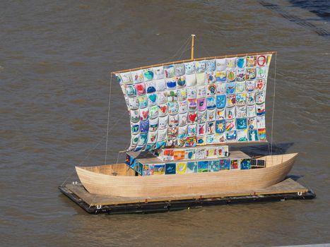 Ship of Tolerance at Tate Modern in London