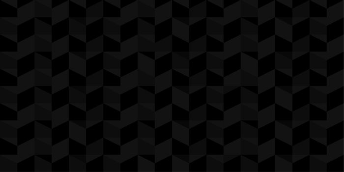 Dark Black Seamless Pattern Vector Illustration Geometric Background Art. Vector illustration