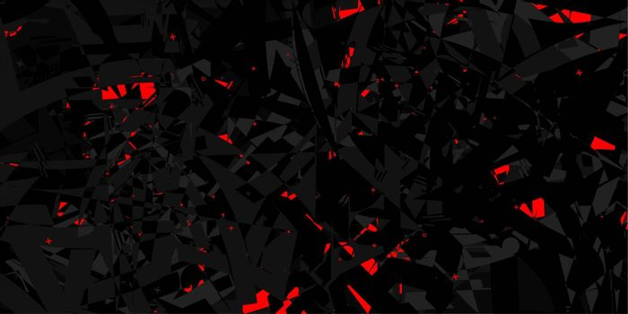 Abstract Dark Black Pattern Vector Illustration Geometric Background Art. Vector illustration