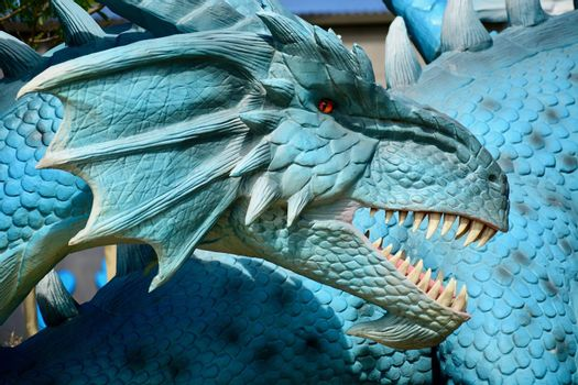 some of the world's most fantastical legends; life-sized dragon; Mythic Creatures exhibit; local attraction