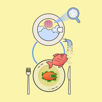 Eating Microfiber 3