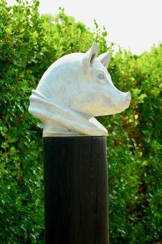 Modern sculpture; garden sculpture; concept