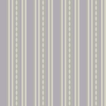 Classic decorative vintage seamless patterns with stripes and waves. Pastel beige, pink striped background in retro style. For greeting cards, invitations, textile fabric, wallpaper or wrapping paper.