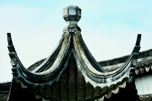 Traditional Chinese architecture - Chinese garden and garden sculpture
