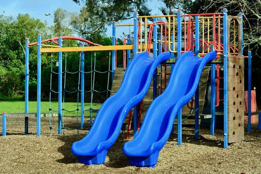 A playground, playpark, or play area is a place specifically designed to enable children to play there.
