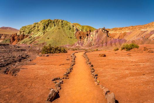 Valle del Arcoiris, San Pedro de Atacama, Chile.