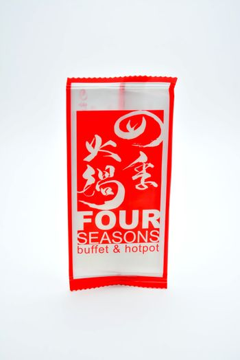 Four seasons buffet and hotpot wet wipes in the Philippines