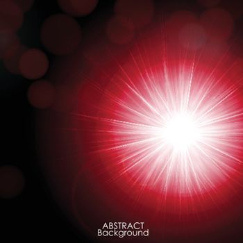 Abstract background with twinkling stars.