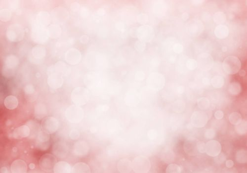 Abstract pink bokeh and blur nature background.