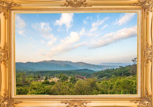 Khun Wang Park is a popular tourist destinations in Thailand.