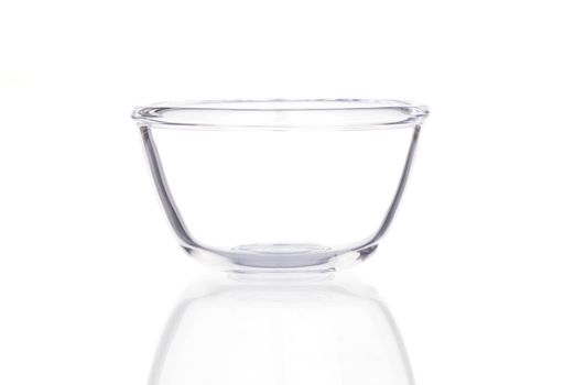 Empty cup isolated on a white background.