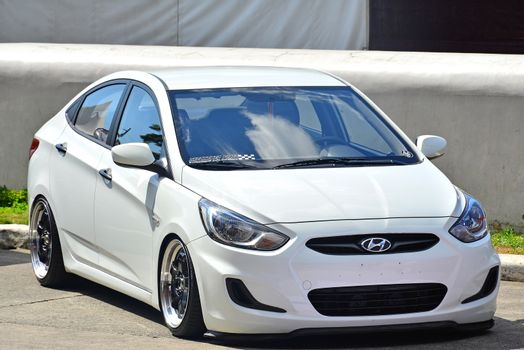 Hyundai Accent at Manila International Auto Show in Pasay, Phili