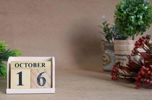 October 16
