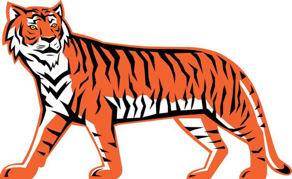 Bengal Tiger Full Body Mascot