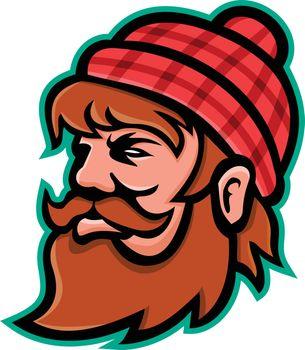 Paul Bunyan Lumberjack Mascot
