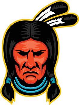 Sioux Chief Sports Mascot