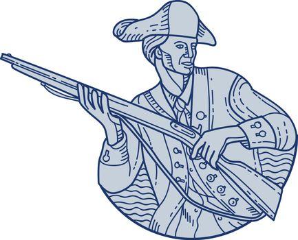 American Patriot Minuteman Rifle Mono Line