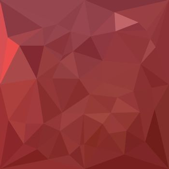 Low polygon style illustration of amaranth purple abstract geometric background.