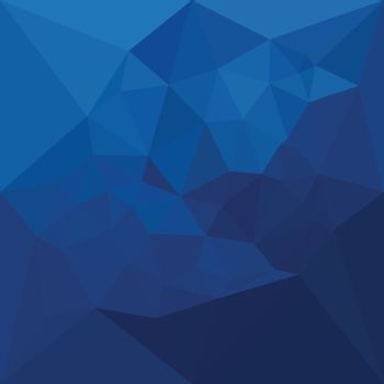 Egyptian Blue Abstract Low Polygon Background