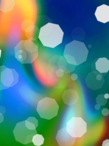 Abstract colorful blured background