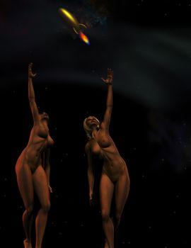 Girls seek to the stars