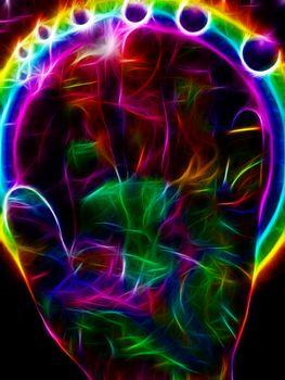 Vibrant Color Hand