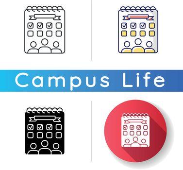 Campus events icon