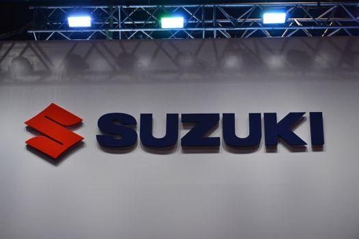 Suzuki sign in Pasay, Philippines
