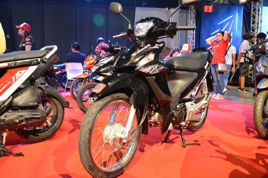 Suzuki smash motorcycle in Pasay, Philippines