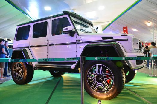 PASAY, PH - APR 7 - Mercedes Benz brabus g500 at Manila International Auto Show on April 7, 2019 in Pasay, Philippines.