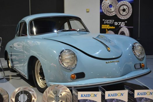 PASAY, PH - MAY 25 - Porsche vintage car at 25th Trans Sport Show on May 25, 2019 in Pasay, Philippines.