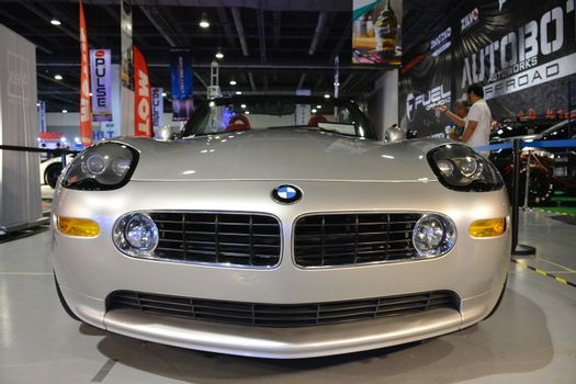 PASAY, PH - MAY 25 - 2003 BMW z8 Roadster alpina at 25th Trans Sport Show on May 25, 2019 in Pasay, Philippines.