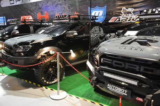 PASAY, PH - MAY 25 - Ford raptor ranger pick up at 25th Trans Sport Show on May 25, 2019 in Pasay, Philippines.