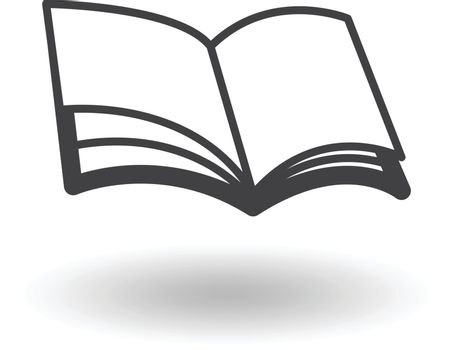 book icon vectoe design