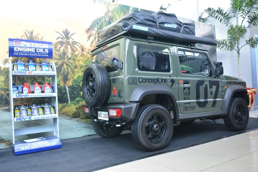 Black Suzuki Jimny at Manila Auto Salon