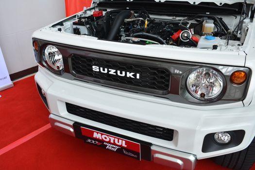 Suzuki Jimny Sierra at Manila Auto Salon