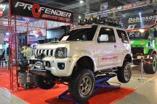 2013 Suzuki Jimny at Manila Auto Salon