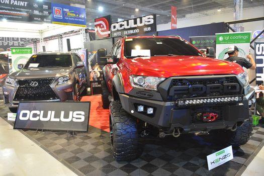 Oculus Auto Detailing Hub booth at Manila Auto Salon