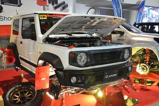 Suzuki Jimny suv at Manila Auto Salon