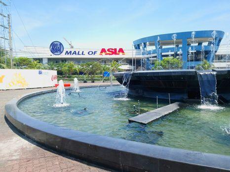 PASAY, PH - NOV 12 - SM mall of asia facade on November 12, 2018 in Pasay, Philippines.
