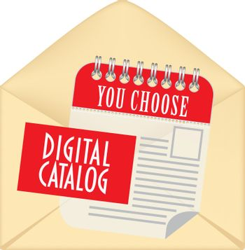 Envelope for digital catalog